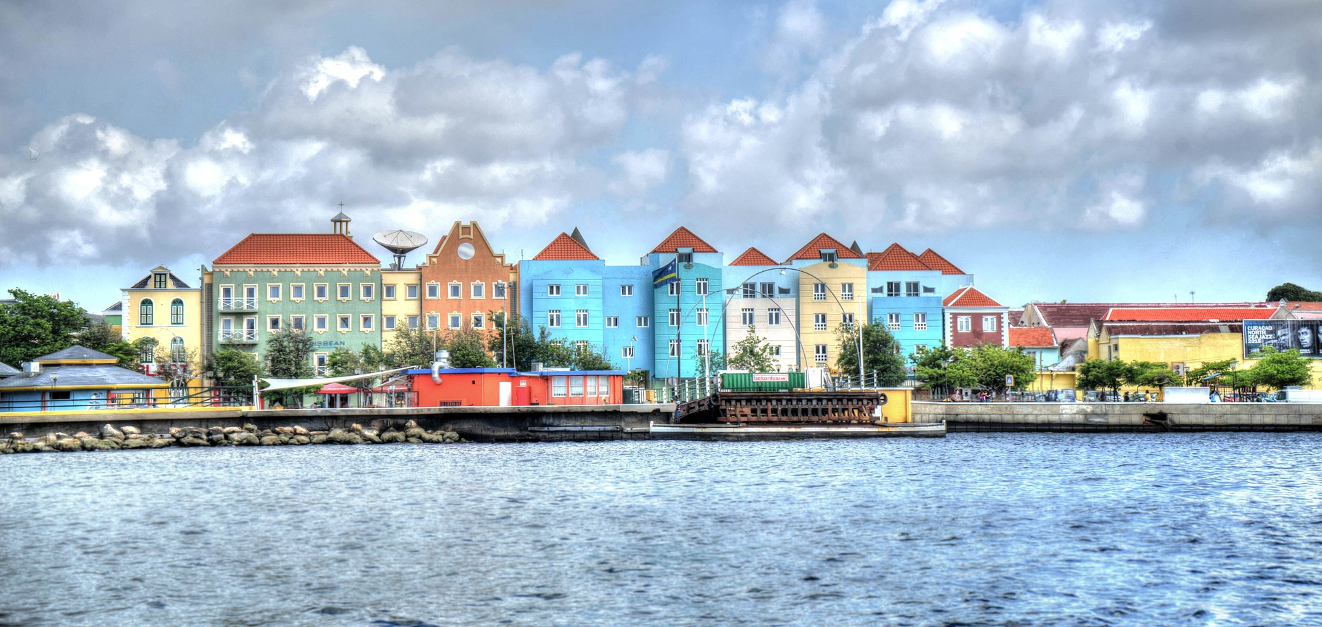 Colored Houses, Curacao